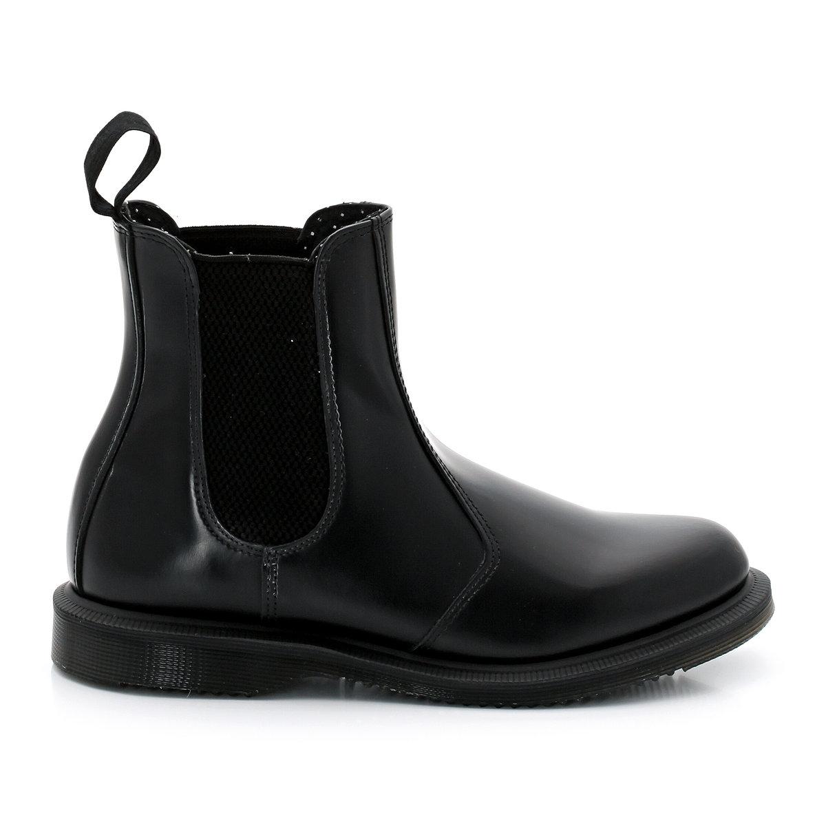 Ботинки-челси кожаные Flora