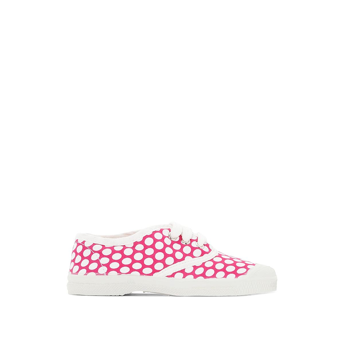 Кеды с цветными точками на шнуровке цены онлайн