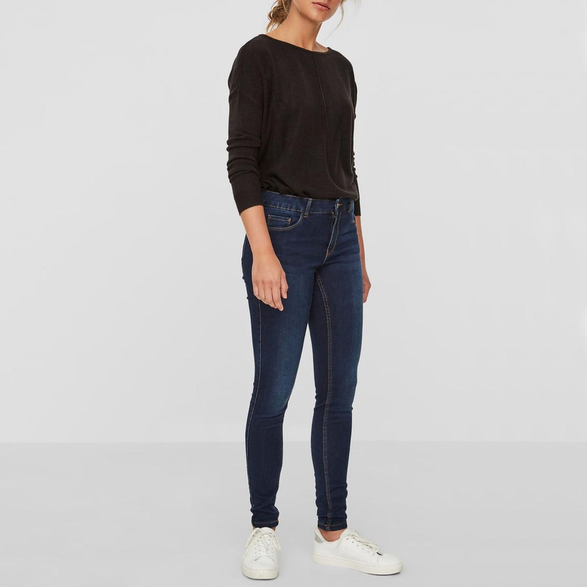 Джинсы скинни с эффектом пуш-ап, длина 30 джинсы скинни zeniah длина 32
