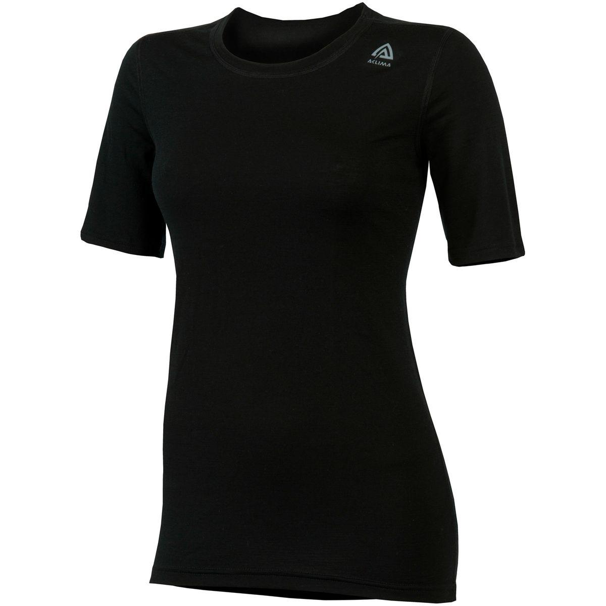 LightWool - Sous-vêtement Femme - noir