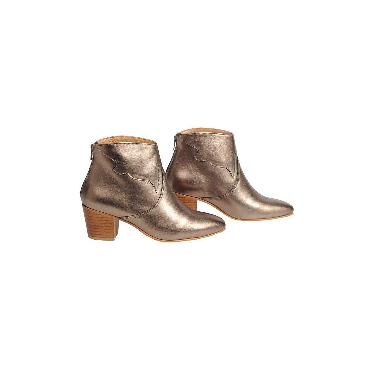 Boots Lima en cuir