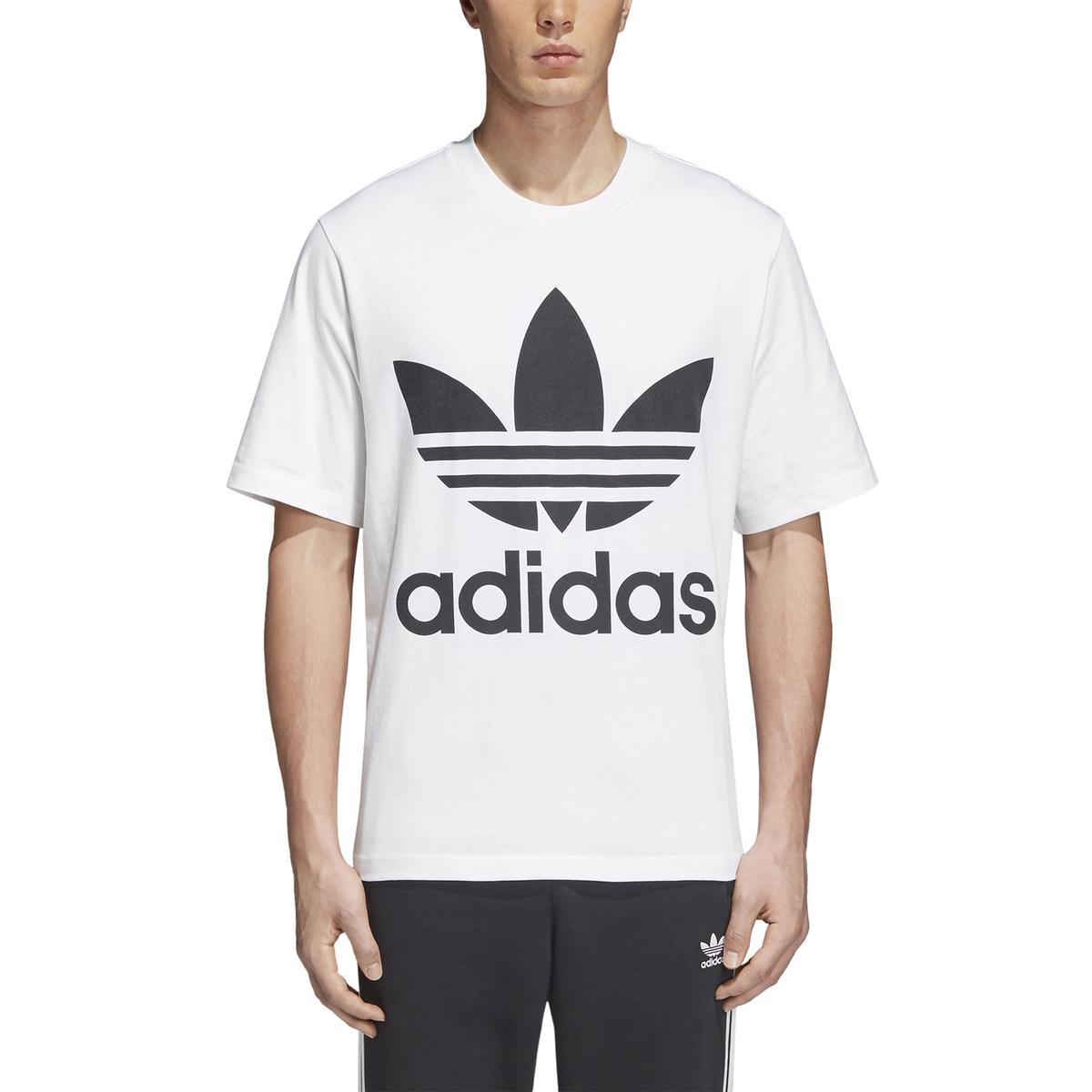 T-shirt de gola redonda, logótipo à frente, mangas curtas