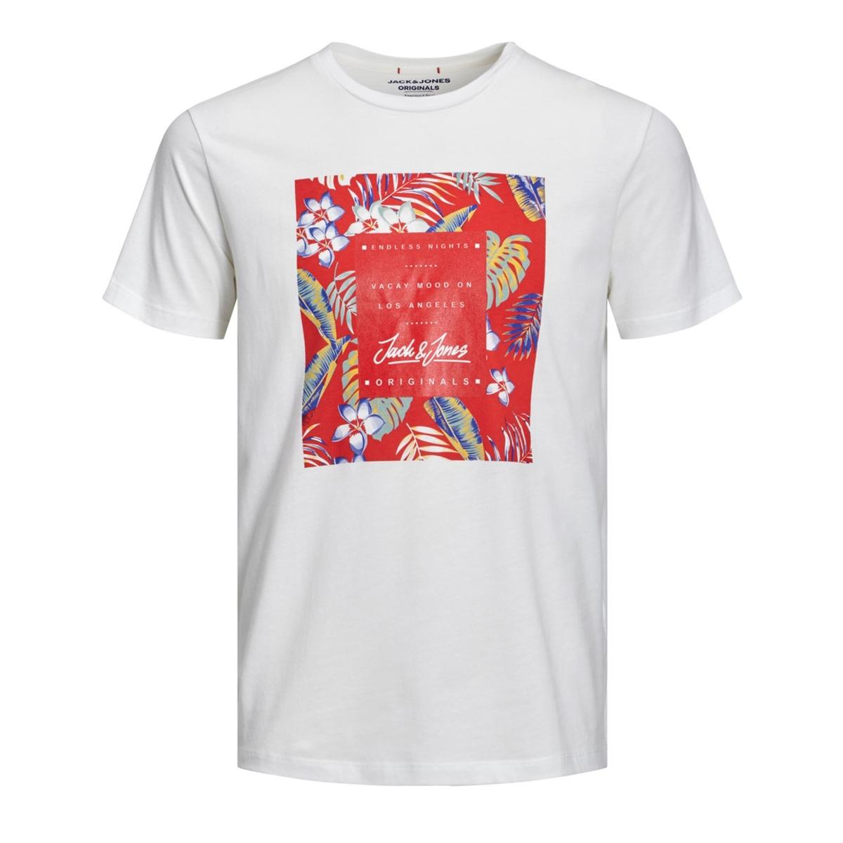 Футболка La Redoute С круглым вырезом и короткими рукавами S белый футболка la redoute с круглым вырезом и короткими рукавами tova loup s серый