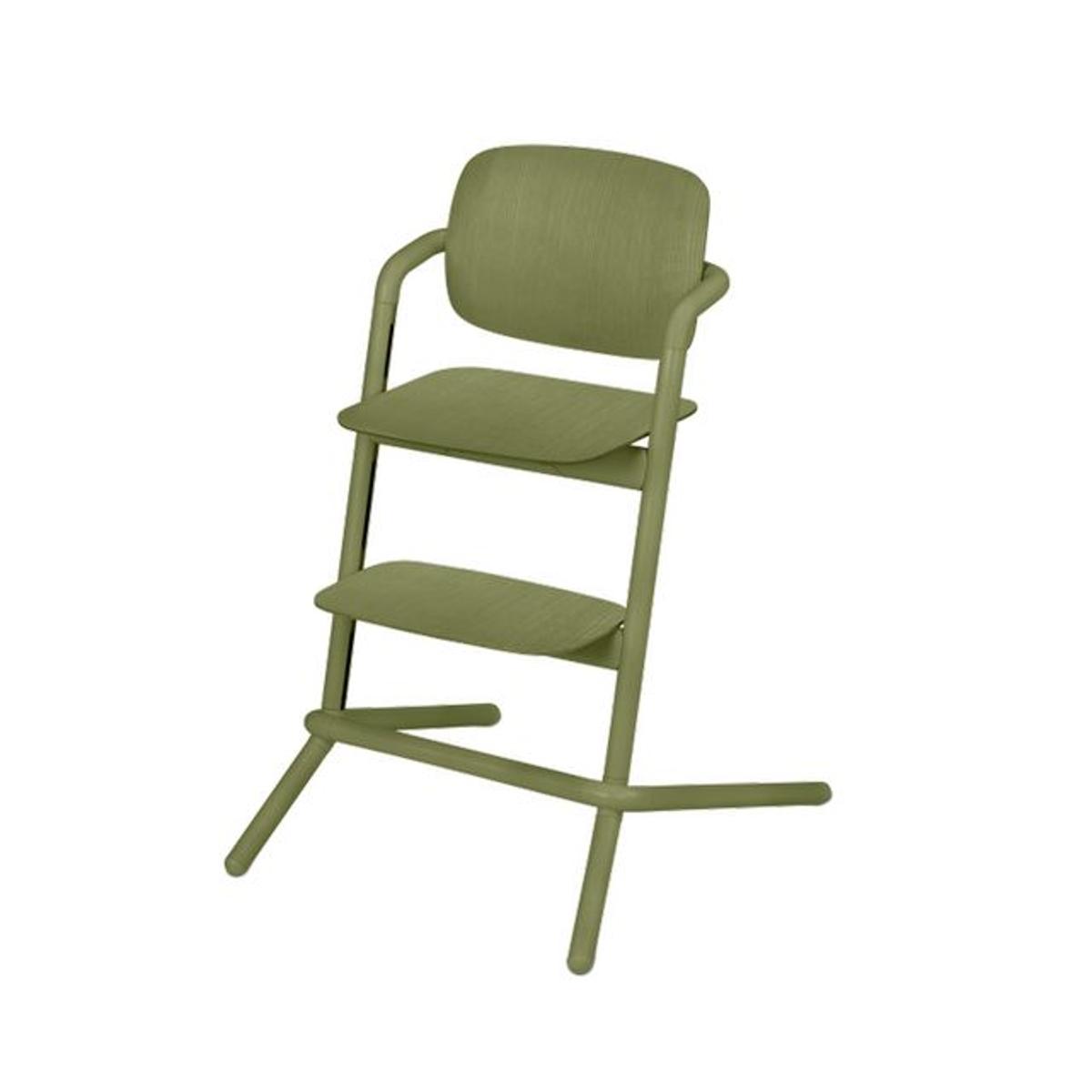 Chaise haute bois Lemo outback green
