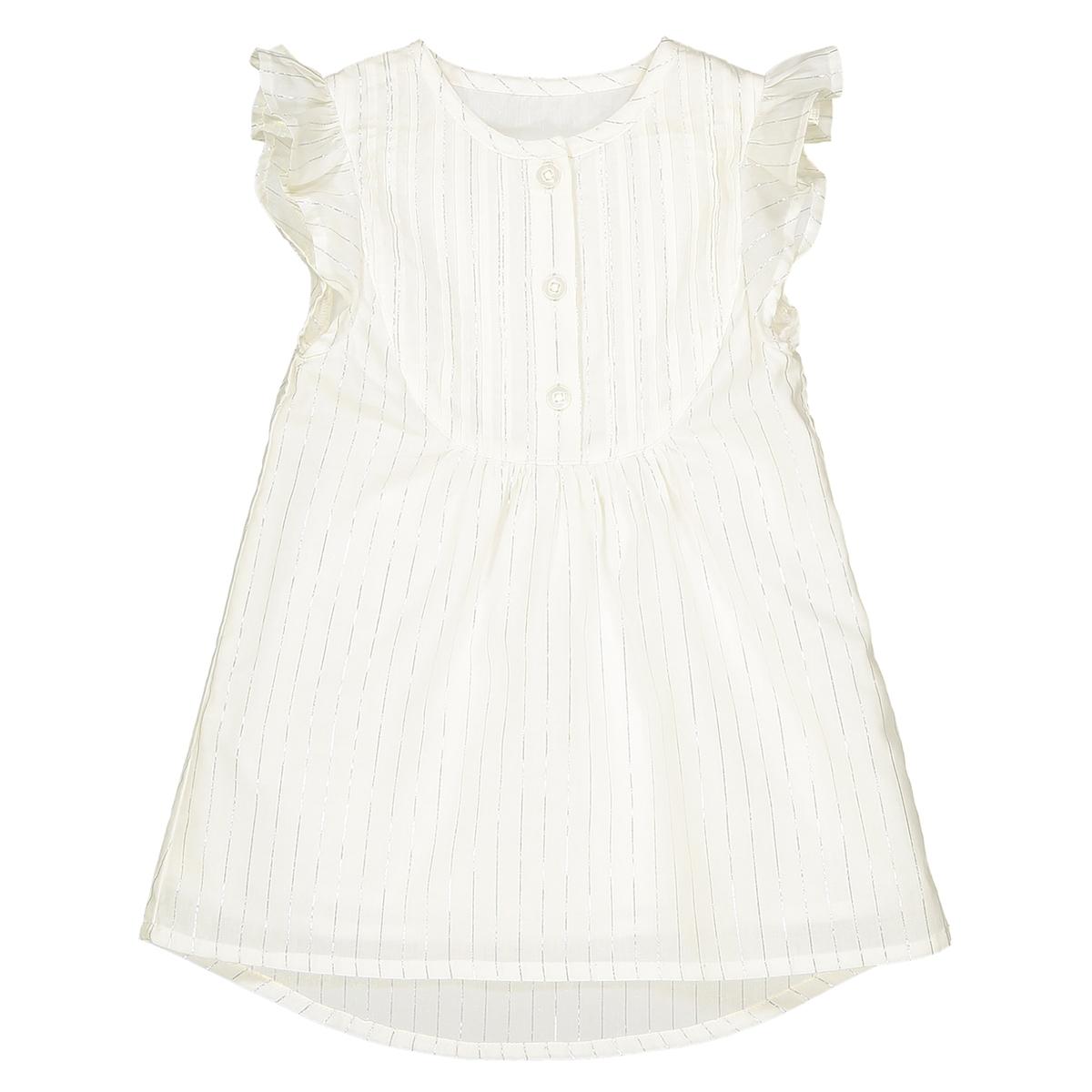 Платье в полоску серебристого цвета, 1 мес. - 3 года платье 3 в 1