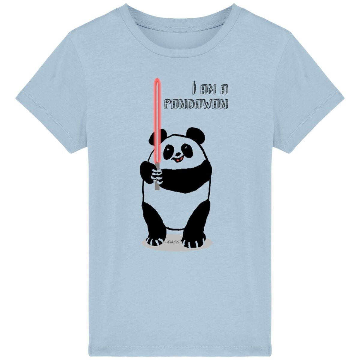 T-shirt en coton bio - I'm a Pandawan