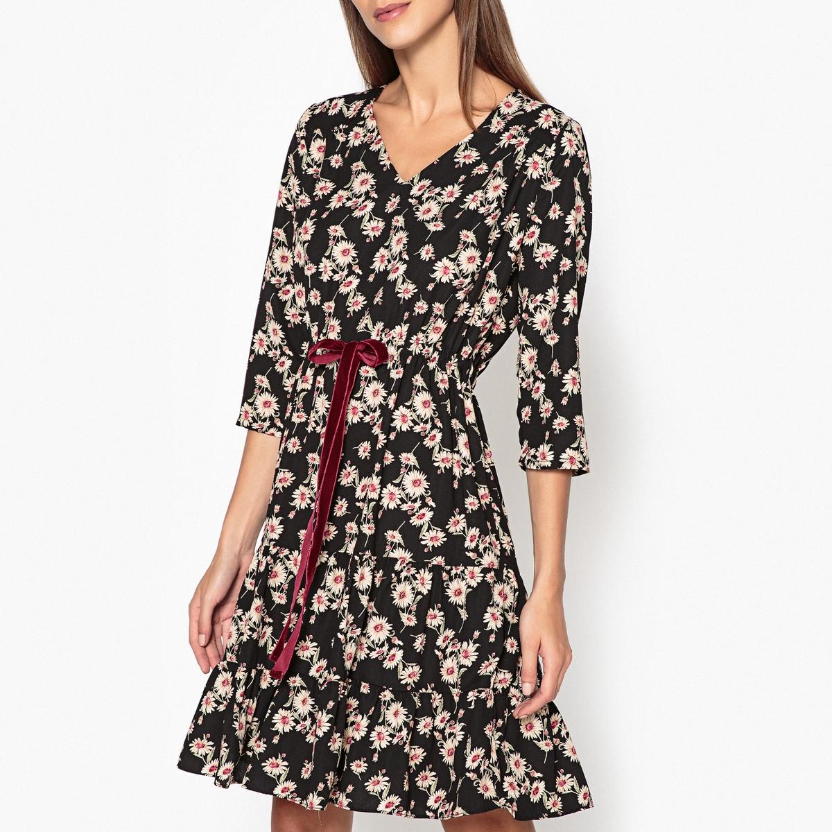 Платье с рисунком LEONARDO