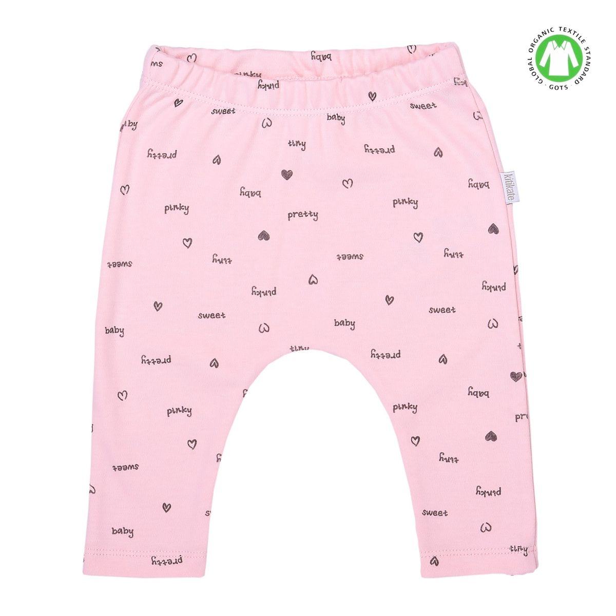 Pantalon legging bébé en coton bio