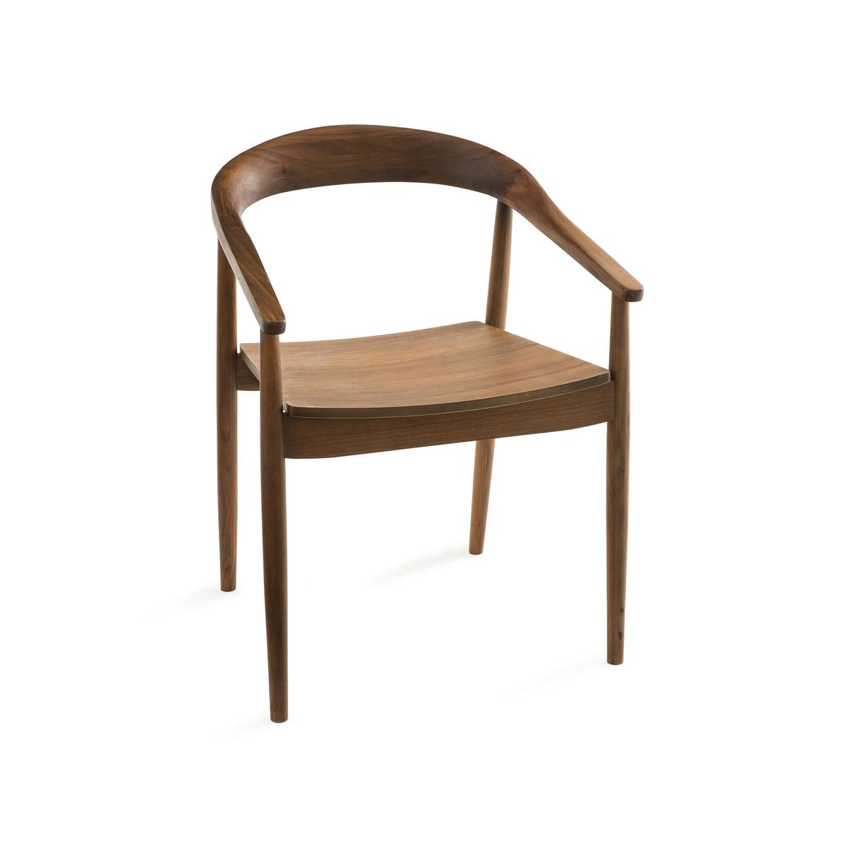 Кресло LaRedoute Galb единый размер каштановый