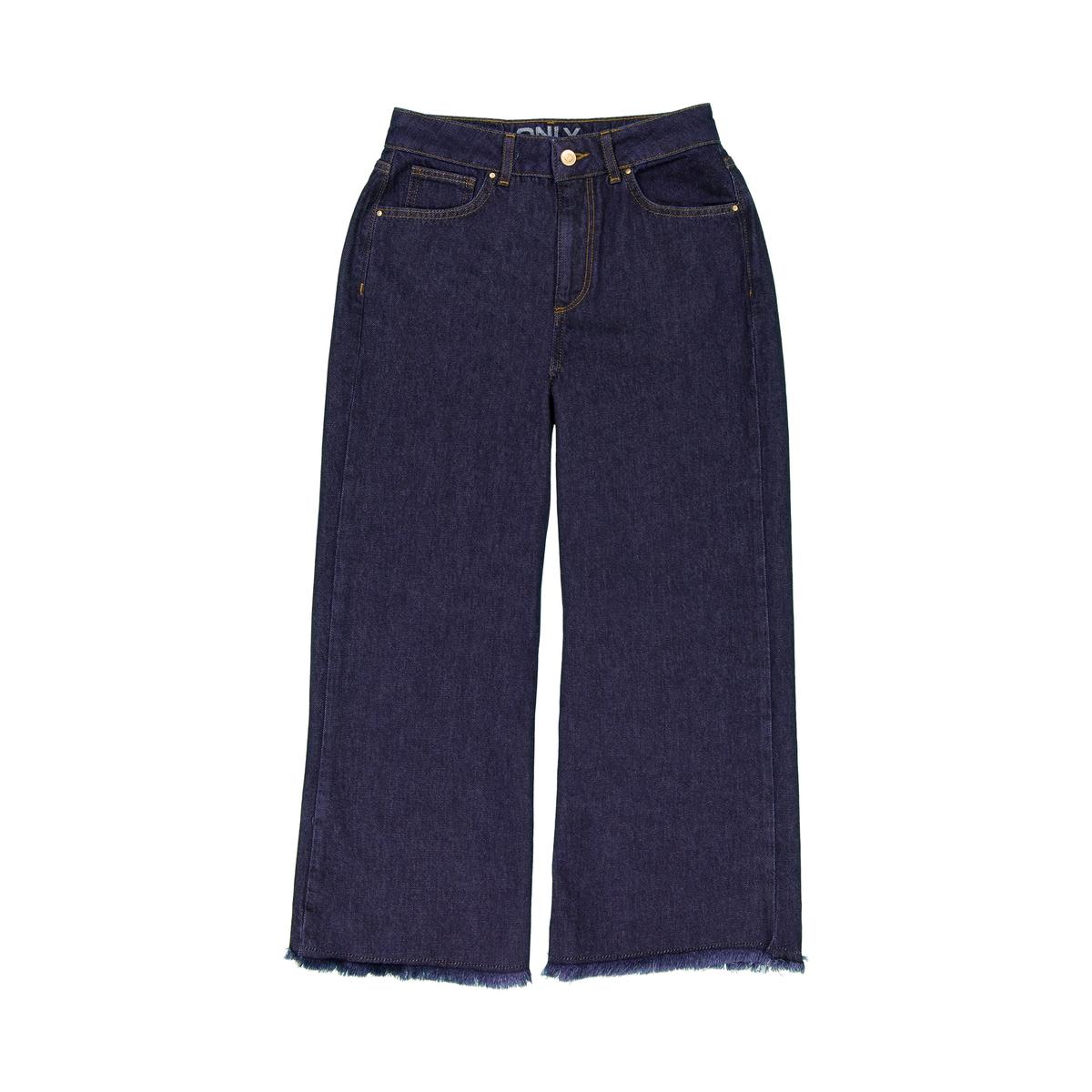 Jeans direitos, corte retangular
