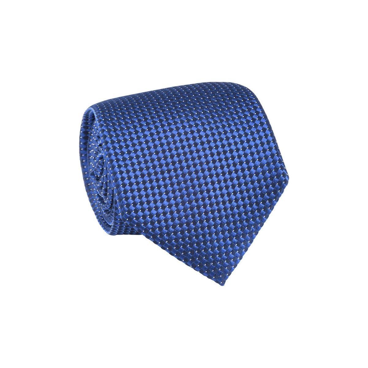 Cravate 100% soie imprimé carrés