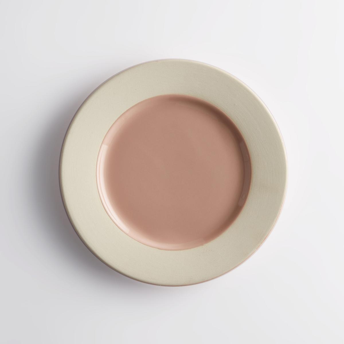 Комплект из 4 десертных тарелок, WAROTAОписание:Десертная тарелка Warota отличается строгим и аутентичным дизайном и двухцветной расцветкой, что обеспечивает сочетание с любым стилем внутреннего декора.Характеристики 4 двухцветных десертных тарелок из керамики Warota : •  Из керамики •  Края из керамики •  Продаётся в комплекте из 4 десертных тарелокРазмеры 4 двухцветных десертных тарелок из керамики Warota : •  ?20 смЦвета 4 двухцветных десертных тарелок из керамики Warota : •  Керамика без глазури / розовый •  Керамика без глазури / синийДругие тарелки и предметы декора стола вы можете найти на сайте laredoute.ru<br><br>Цвет: розовая пудра,синий<br>Размер: единый размер