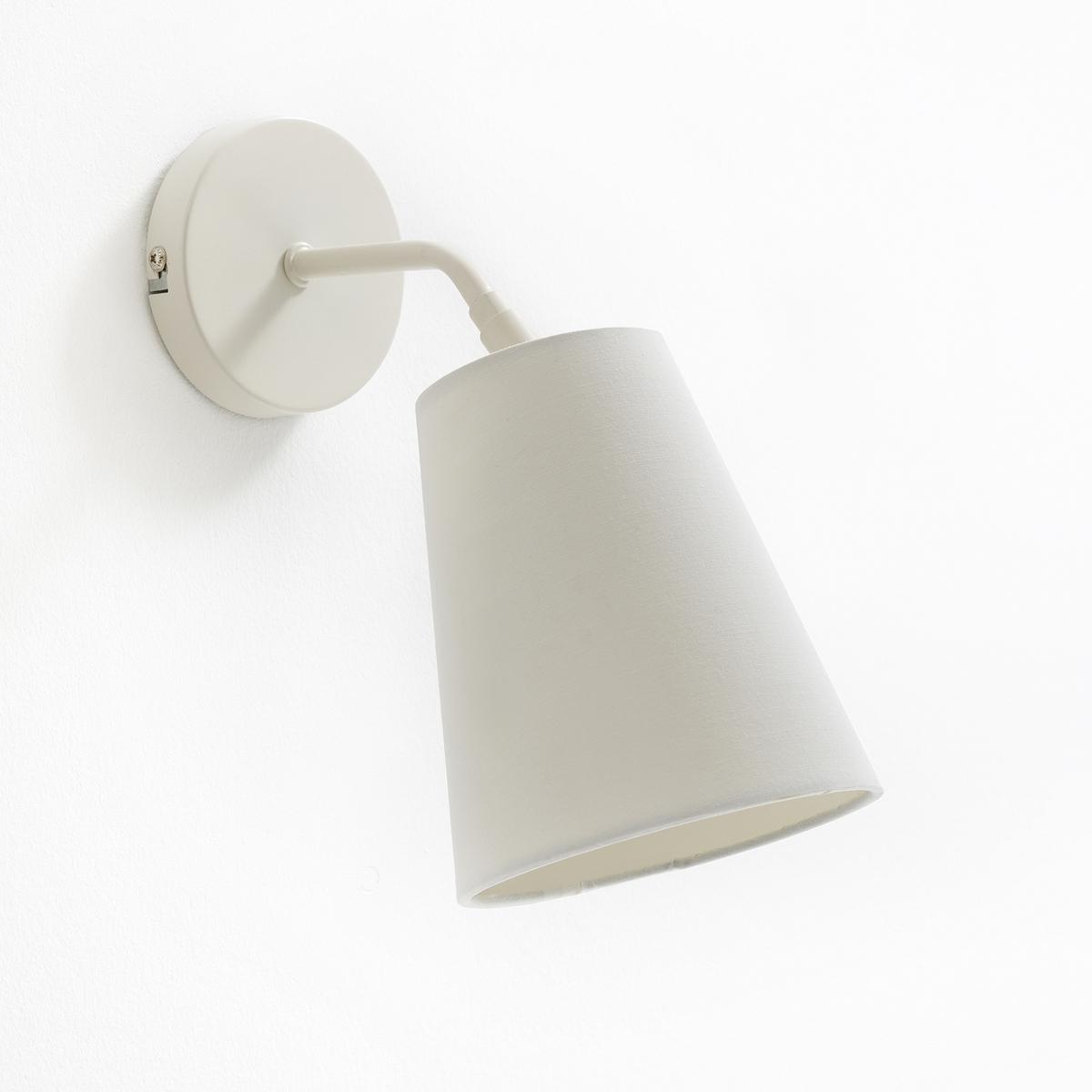 Светильник из металла PACTUSСветильник  из металла Pactus. Современный светильник с изысканным дизайном Pactus.Описание светильника Pactus :Патрон E14 для флюокомпактной лампочки макс. 8Вт не взодит в комплект. Этот светильник совместим с лампочками энергокласса: A. Характеристики светильника Pactus :Металл с эпоксидным покрытием. Абажур из ткани с регулируемым положением (шаровой шарнир)Найдите всю коллекцию Pactus на сайте la redoute.ru.Размеры светильника Pactus :Размеры : 29 x 13x 22,5 см . Абажур : 13 x 8 x 15 см .Размеры и вес ящика :1 упаковка25 x 18 x 26 см .Вес 0,8 кг<br><br>Цвет: белый,красный,сине-серый,черный