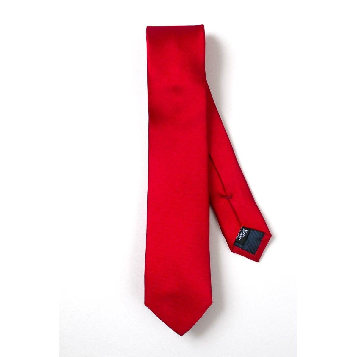 Cravate soie fine