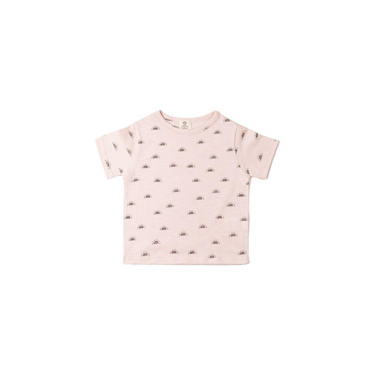 T-shirt coton bio SOLEILS