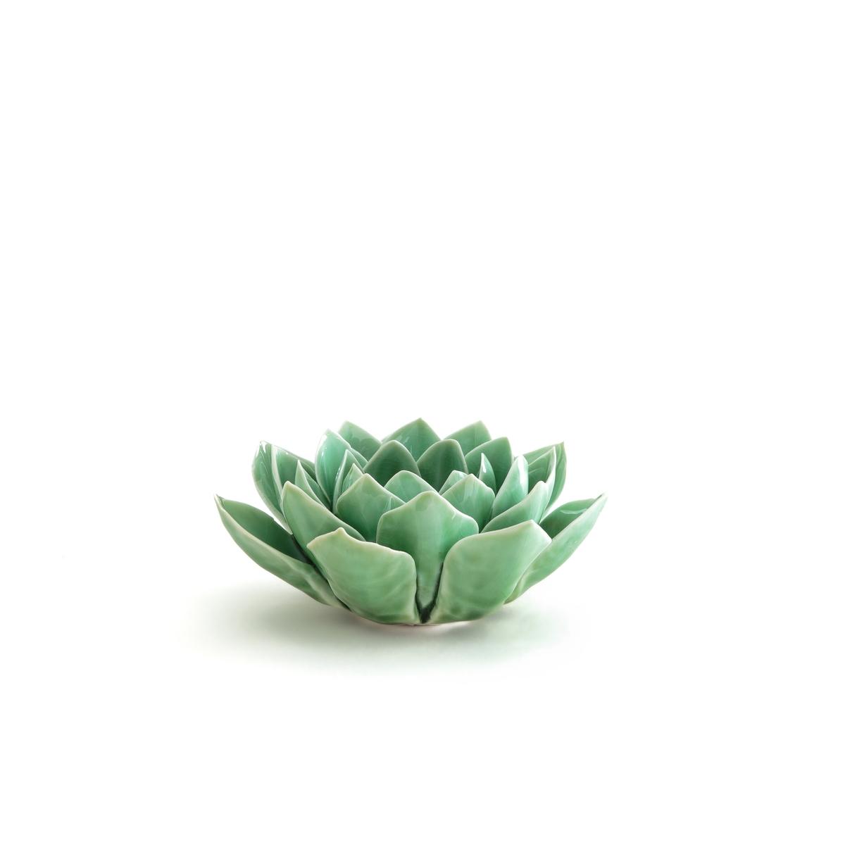 Porta candela ceramica mod. 2 Agave