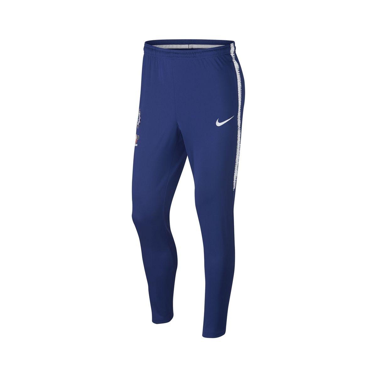 Pantalon Entraînement Nike Chelsea Squad KPZ Bleu