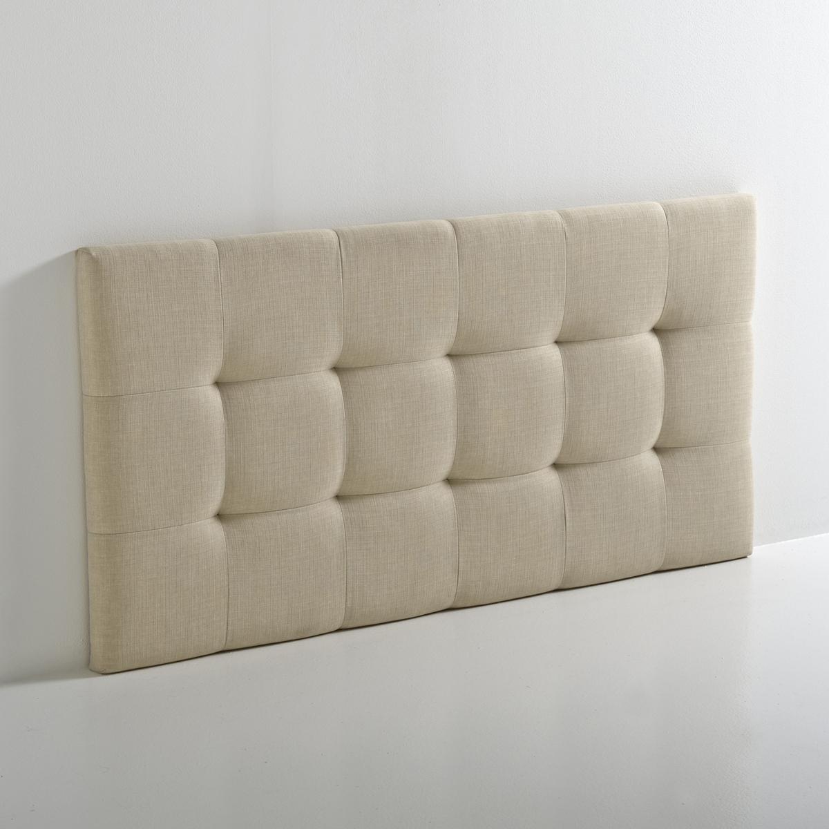 Изголовье LaRedoute Кровати с обивкой в современном стиле Numa 140 см бежевый кровати с мягкой обивкой