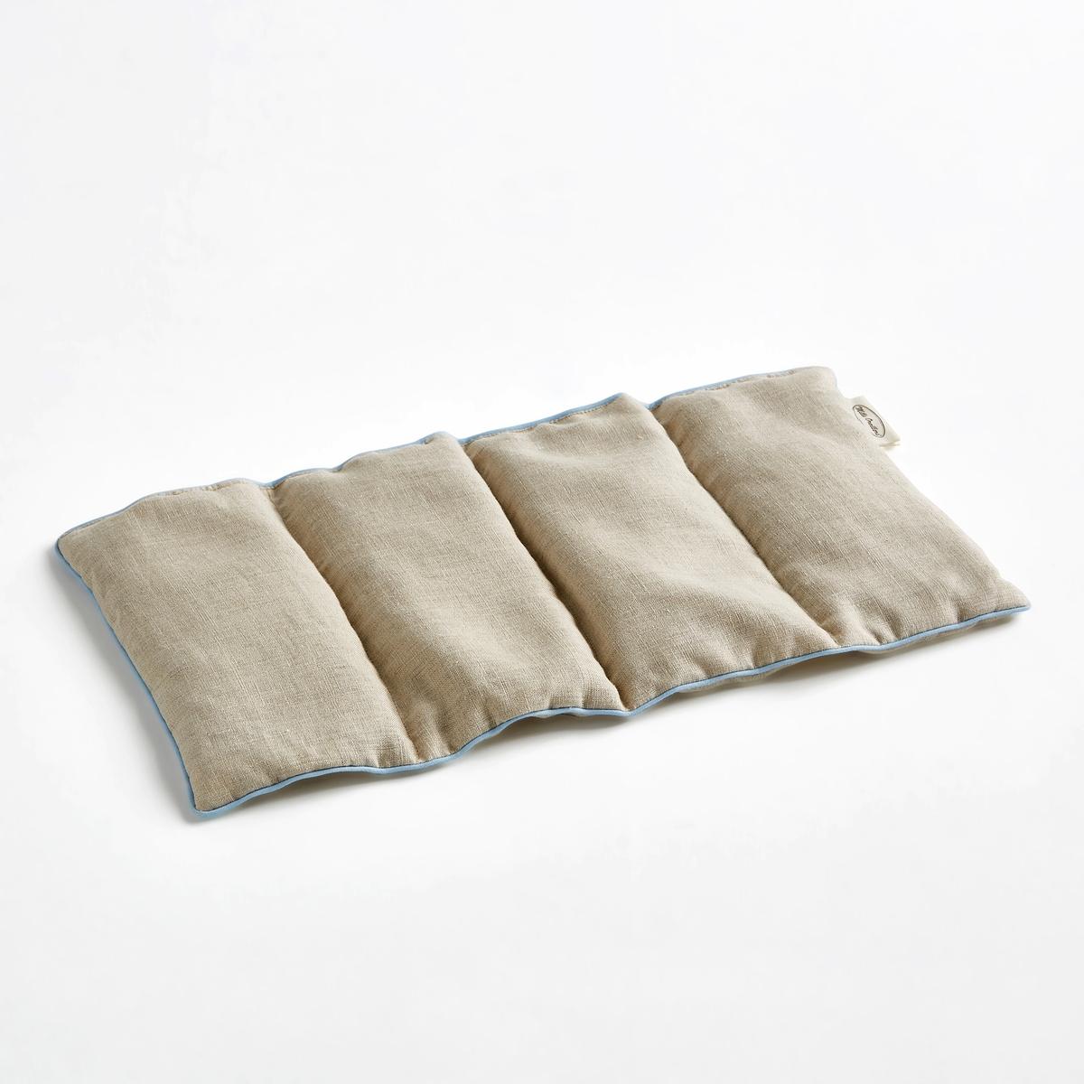 Грелка с семенами льна, AmarantusLa Redoute<br>Грелка с льняными семенами Amarantus. Разогретая грелка, напоминающая (не без основания) древние припарки, приятно согревает, оказывая болеутоляющий эффект. Её можно прикладывать к затылку, животу, суставам или просто использовать для согрева кровати..Разогрейте грелку в печи любого типа в течение нескольких минут и наслаждайтесь успокаивающими и болеутоляющими свойствами льна.!Богатые маслом льняные семена подарят нежное и успокаивающее тепло и несравненный аромат.. Характеристики : - Наполнитель: 100% льняное семя из Фландрии . - Верх из 100% французского льна, 4 равных отделения. - Не стирать. - Произведено во Франции.Использование: - Разогреть в микроволновой/ традиционной печи или на батарее, под наблюдением и после проделанных несколько раз тестов..- Можно использовать в холодном виде.Размеры : - 20 x 40 см.<br><br>Цвет: экрю