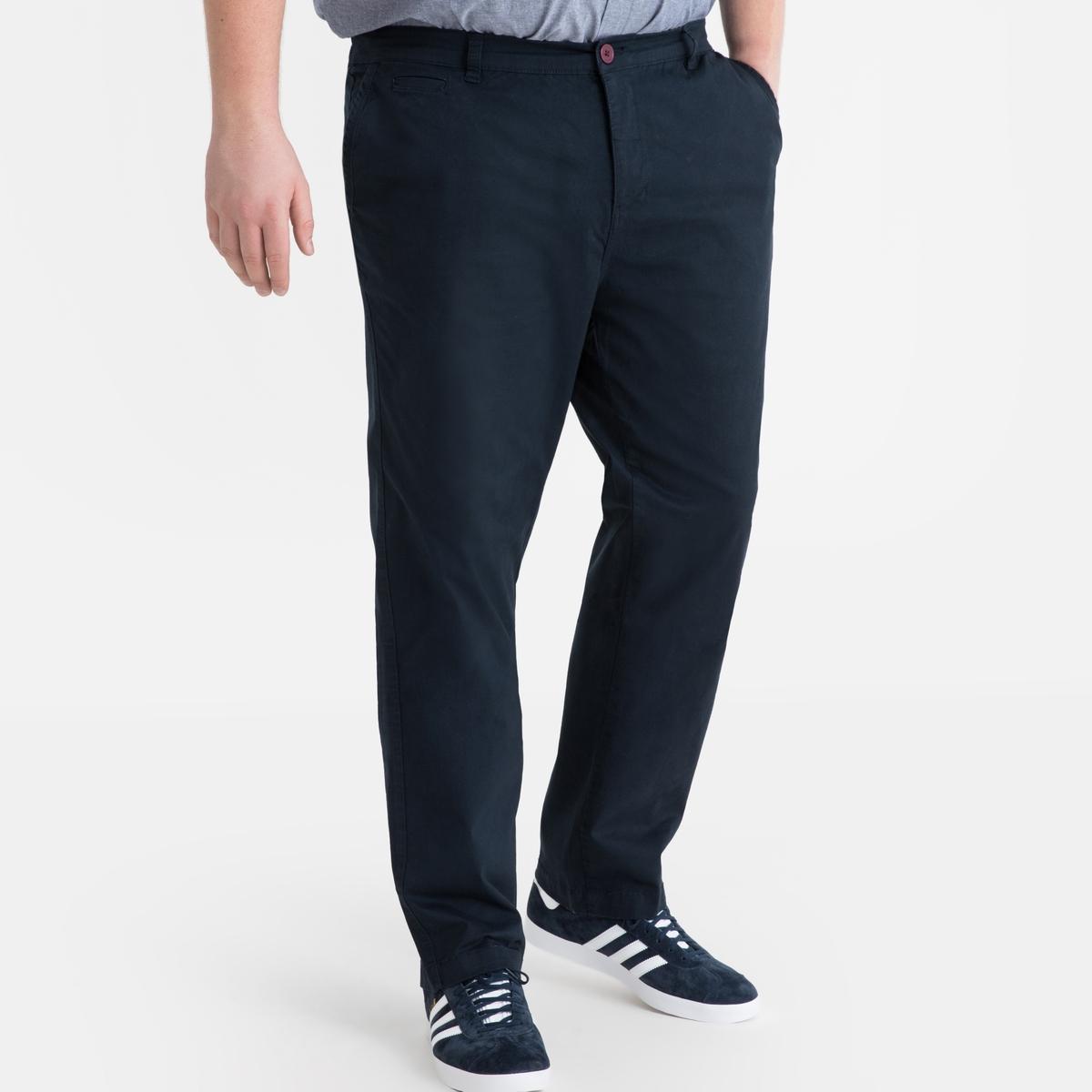 Calças chino stretch, comp.1 (menos de 1m87)