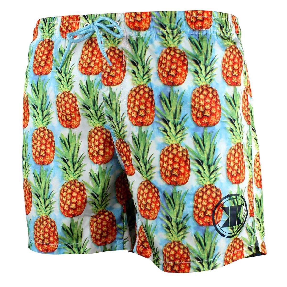 Short De Bain Homme Pineapple