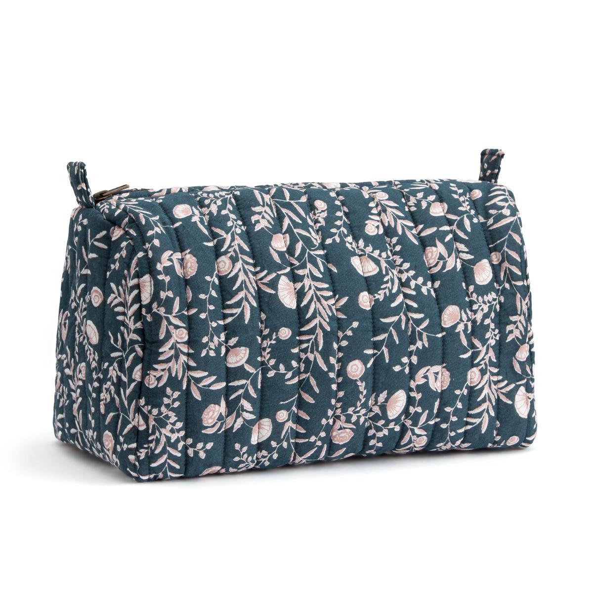An image of La Redoute Interieurs Vimala Cotton Toilet Bag