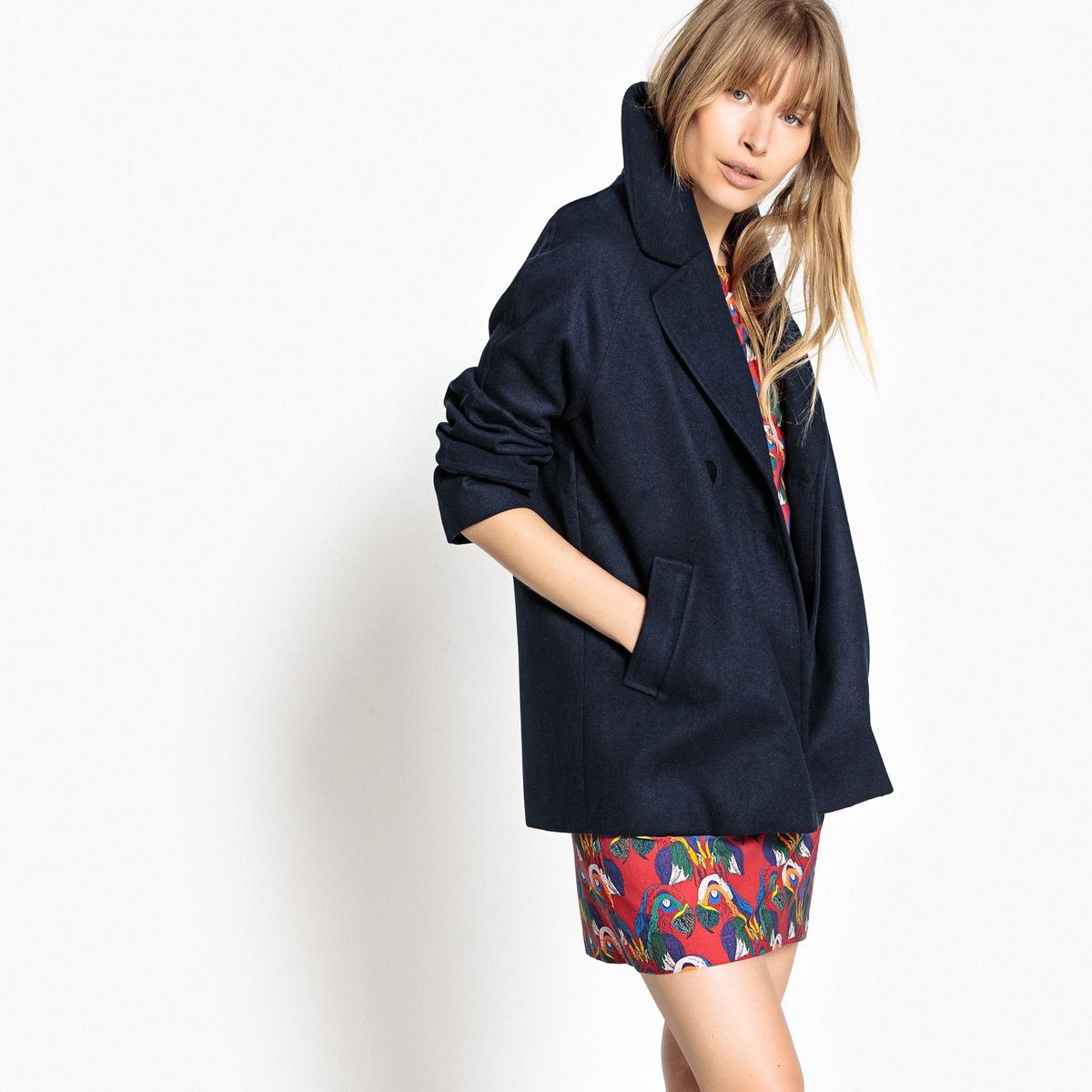 Abrigo corto estilo gabán