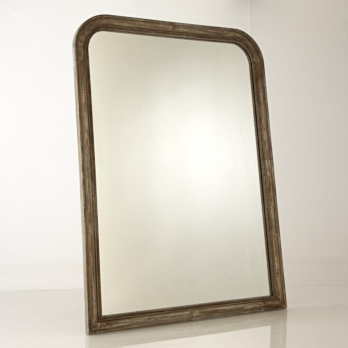Зеркало Afsan из массива мангового дерева