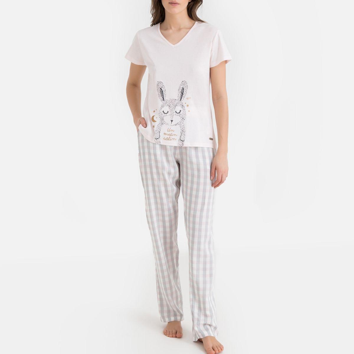 Pyjama imprimé lapin