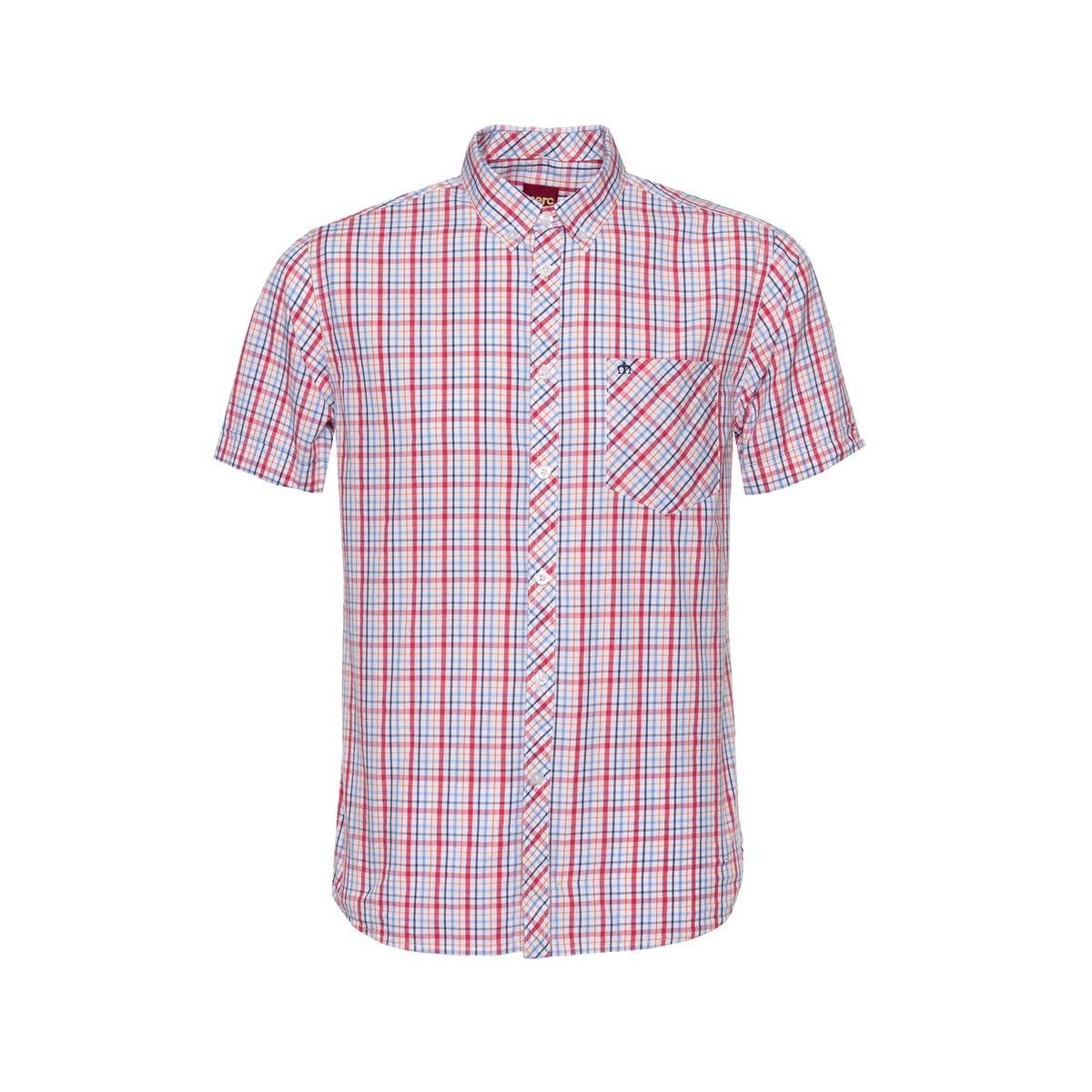 Chemise à carreaux boutonnée RIDLEY