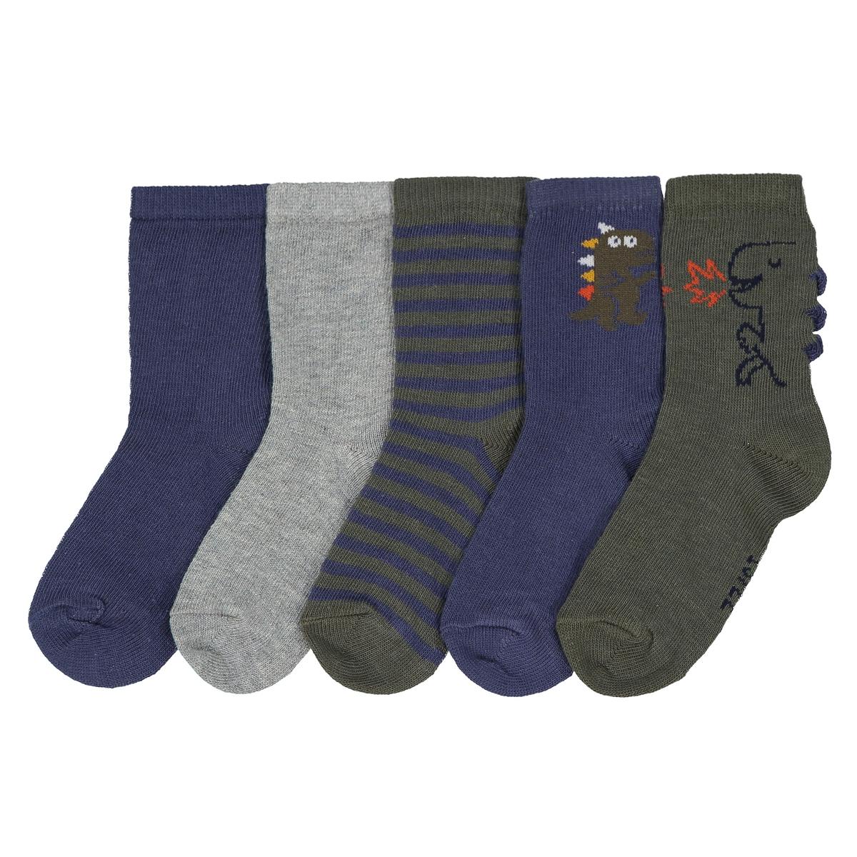 Комплект из 5 пар оригинальных носков 15/18-23/26 комплект из 4 пар носков размеры 15 18 23 26