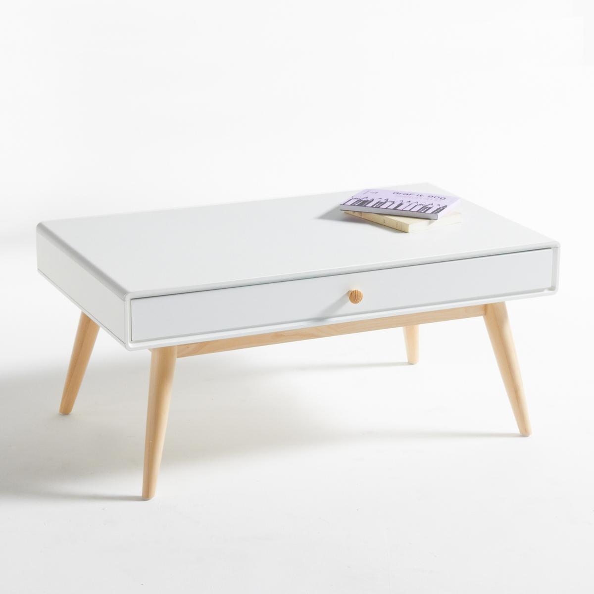 Столик журнальный с 1 ящиком и 1 нишей, Jimi шкаф с нишей и столом орион