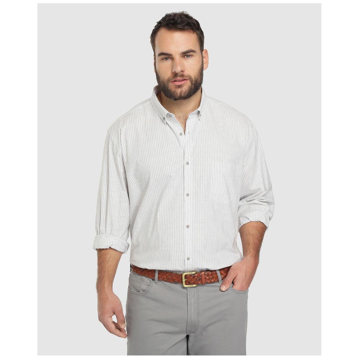 Chemise regular à motife   /