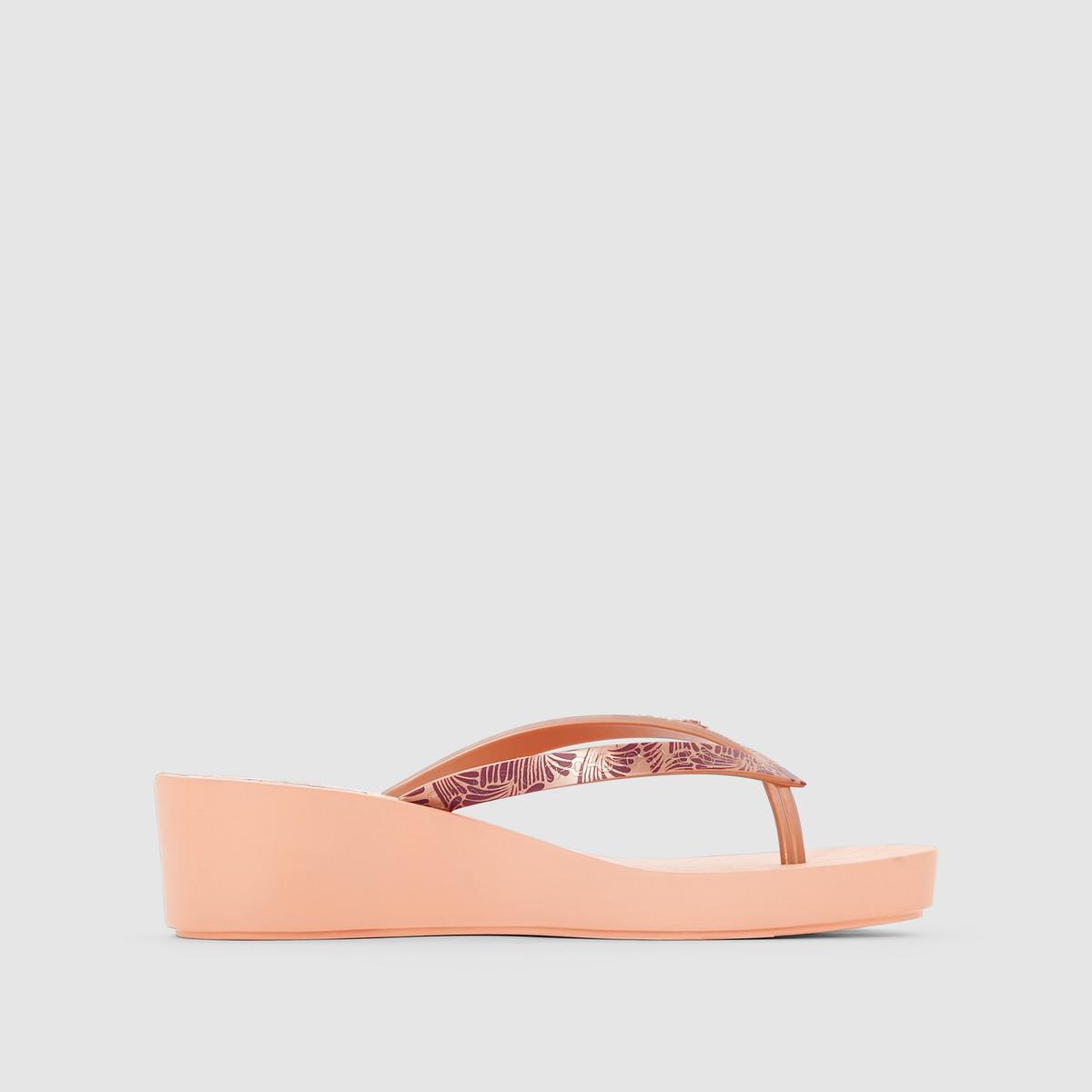 Сандалии Art Deco III FemВерх : Каучук   Стелька : Каучук   Подошва : Каучук   Форма каблука : плоский каблук.   Мысок : открытый мысок   Застежка : без застежки<br><br>Цвет: розовый