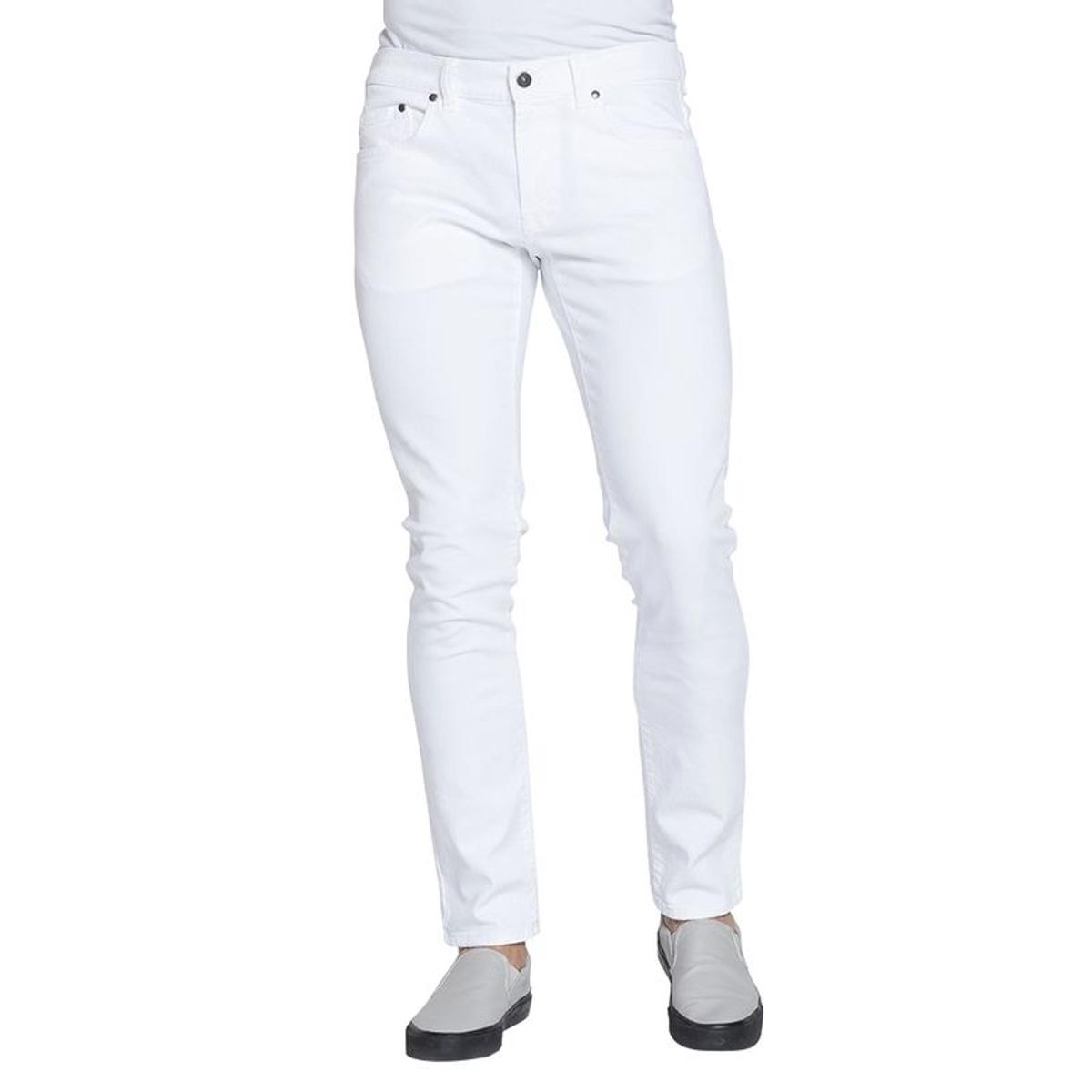Pantalon couleur unie taille basse