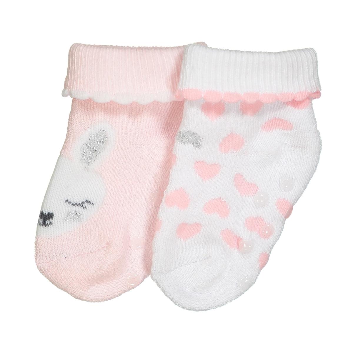 Носки с рисунком, букле, комплект из 2 пар