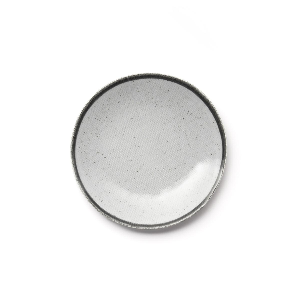 Фото - 4 десертные LaRedoute Тарелки из глазурованной керамики Anika единый размер серый 4 десертные laredoute тарелки из глазурованной керамики anika единый размер серый
