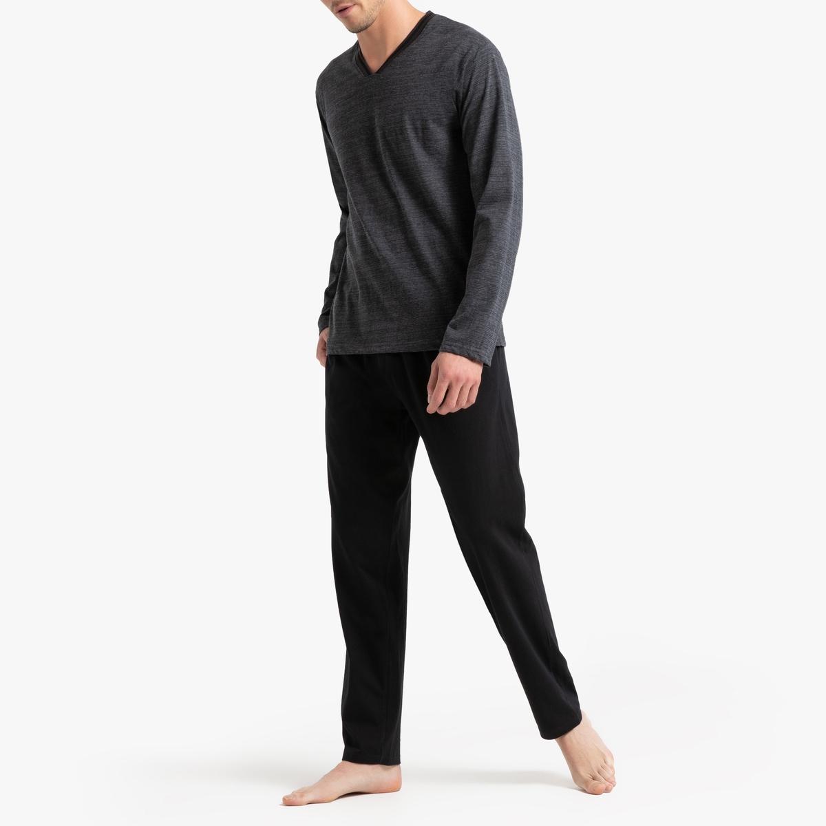 Пижама La Redoute Длинная XL серый цена 2017