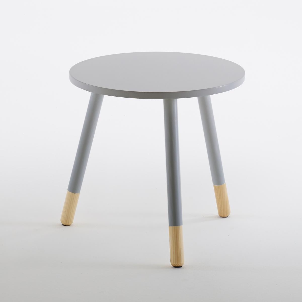 Столик журнальный, JanikЖурнальный столик Janik можно использовать в гостиной в качестве приставного стола возле дивана или в спальне - в качестве прикроватного столика. Он впишется в любой интерьер благодаря своему минималистичному дизайну с двухцветными ножками.Характеристики журнального столика Janik:Столешница из лакированной плиты МДФ с покрытием нитроцеллюлозным лаком. Ножки из массива сосны с частичной лакировкой и покрытием нитроцеллюлозным лаком. Наконечники из натуральной сосны с противоскользящими насадками. Размеры журнального столика Janikдиаметр 45 x В. 44,5 см            Цвет: белый, серый, желтый.Размеры и вес коробки:1 коробка57 x 1,2 x 55 см 4,7 кг.<br><br>Цвет: желтый,серый<br>Размер: единый размер.единый размер