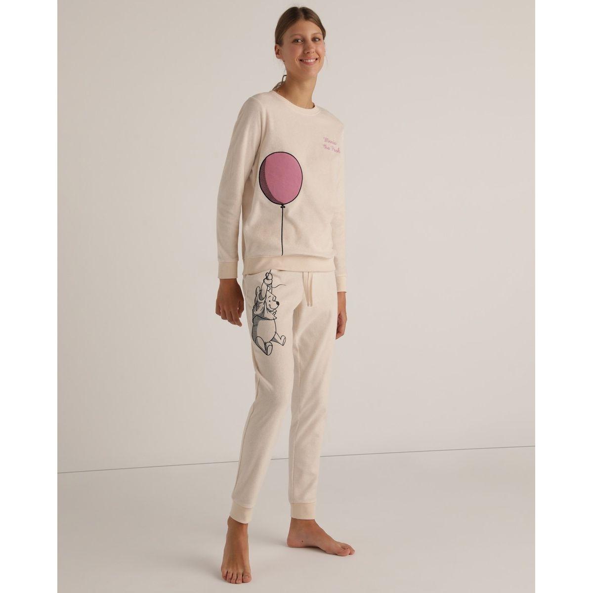 Pyjama micropolaire Tejido Soft Winnie l'ourson