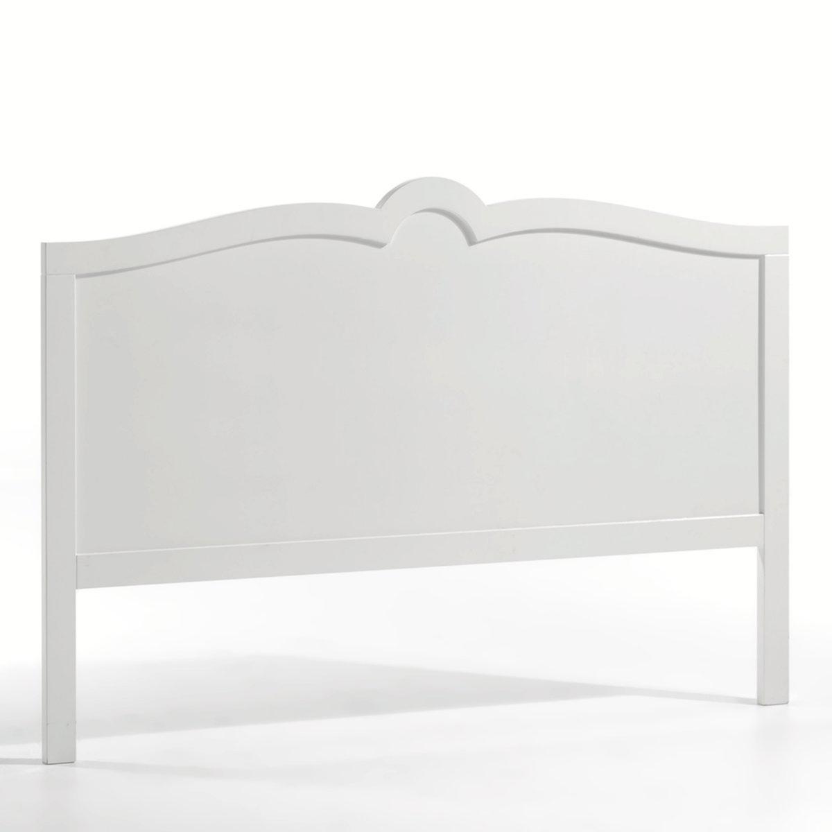 Изголовье LaRedoute Для кровати с лакированной отделкой Sydia 140 см белый кровати 160 см