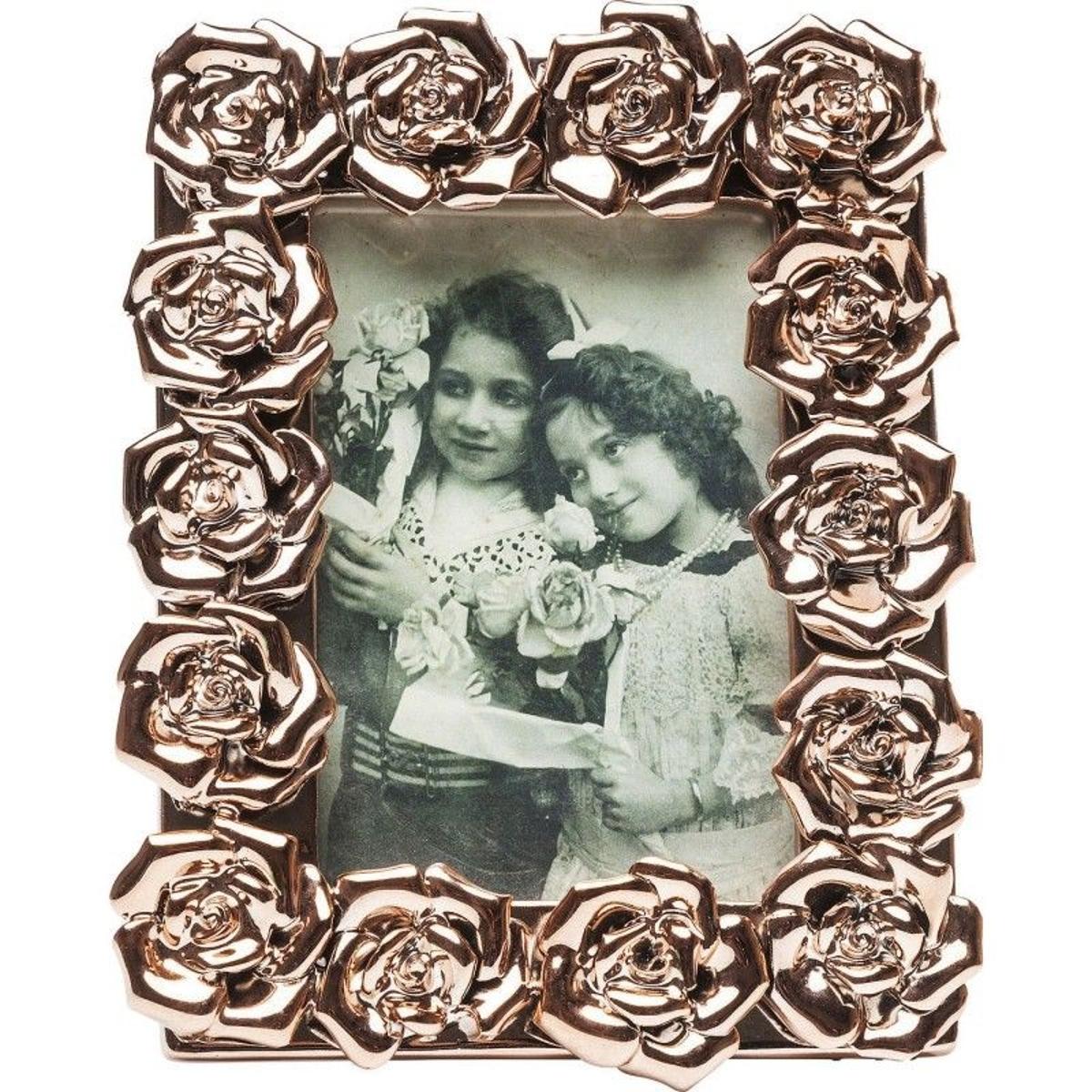 Cadre Rose or rose 10x15cm Kare Design