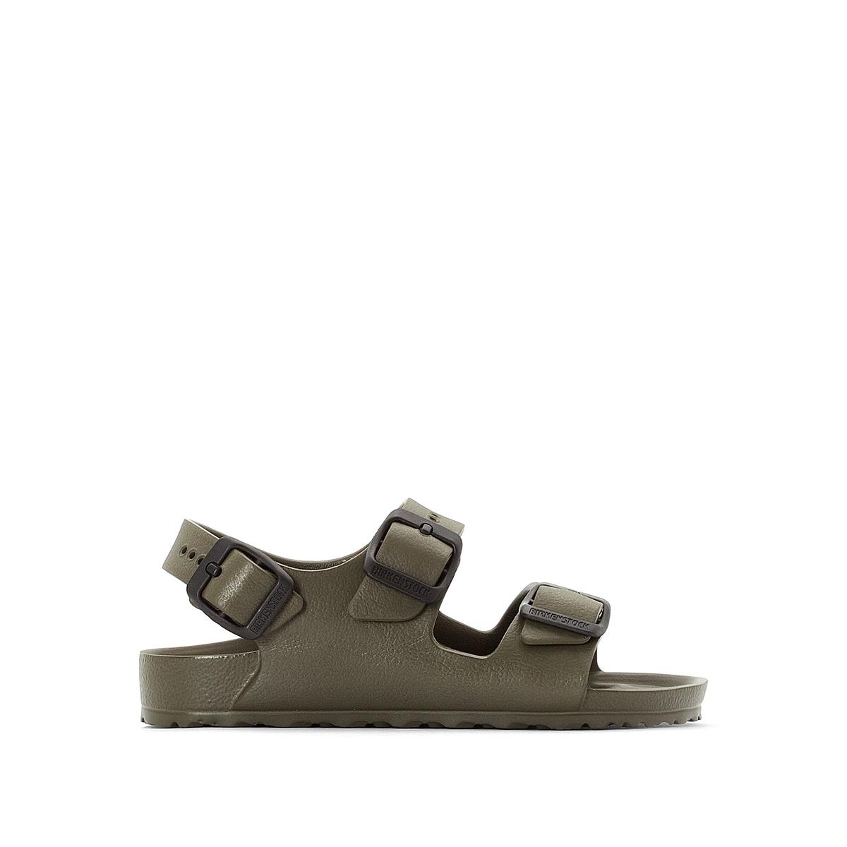 Босоножки на плоском каблуке Milano, размеры 24-34 босоножки кожаные на плоском каблуке l imprudente