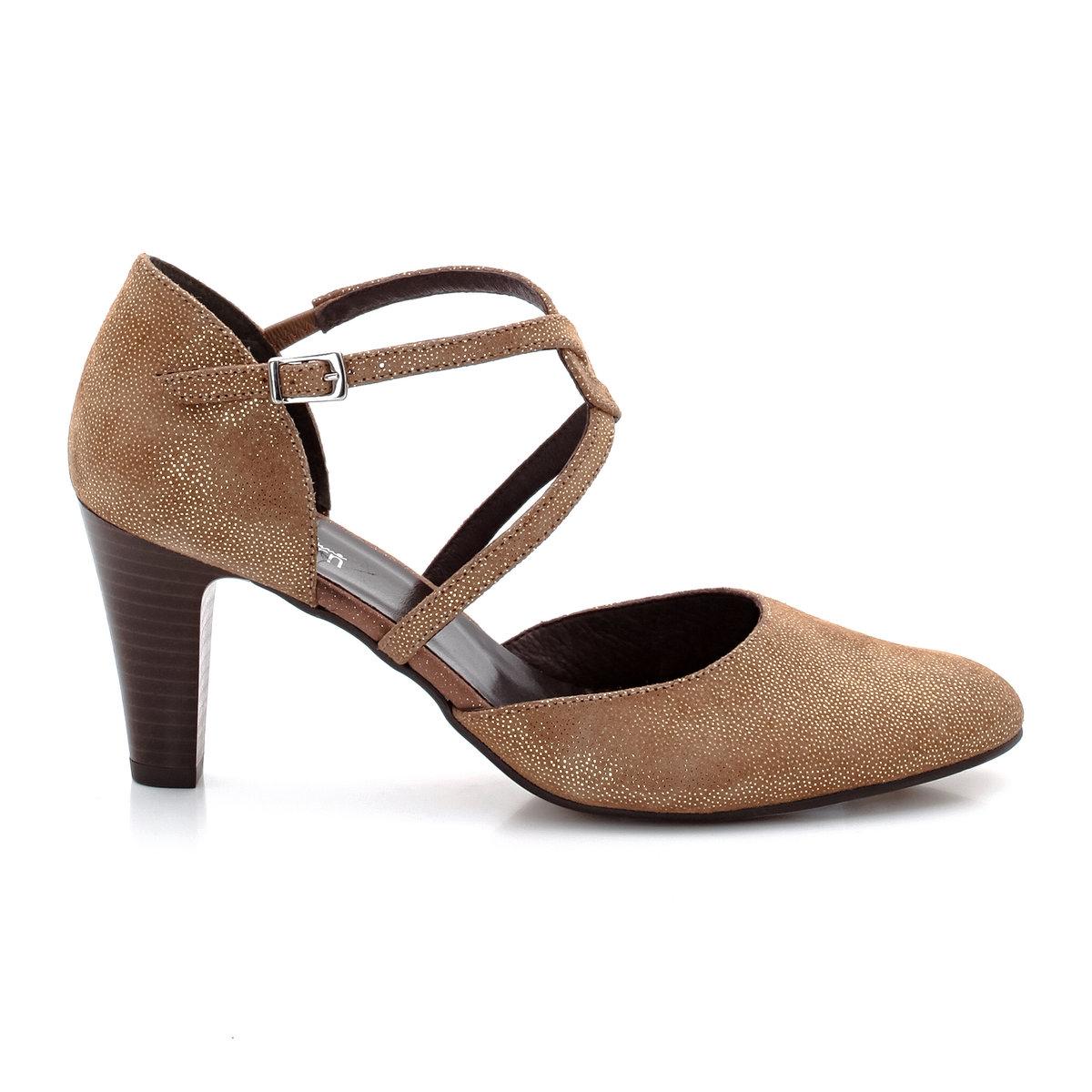Туфли с пересекающимися ремешками