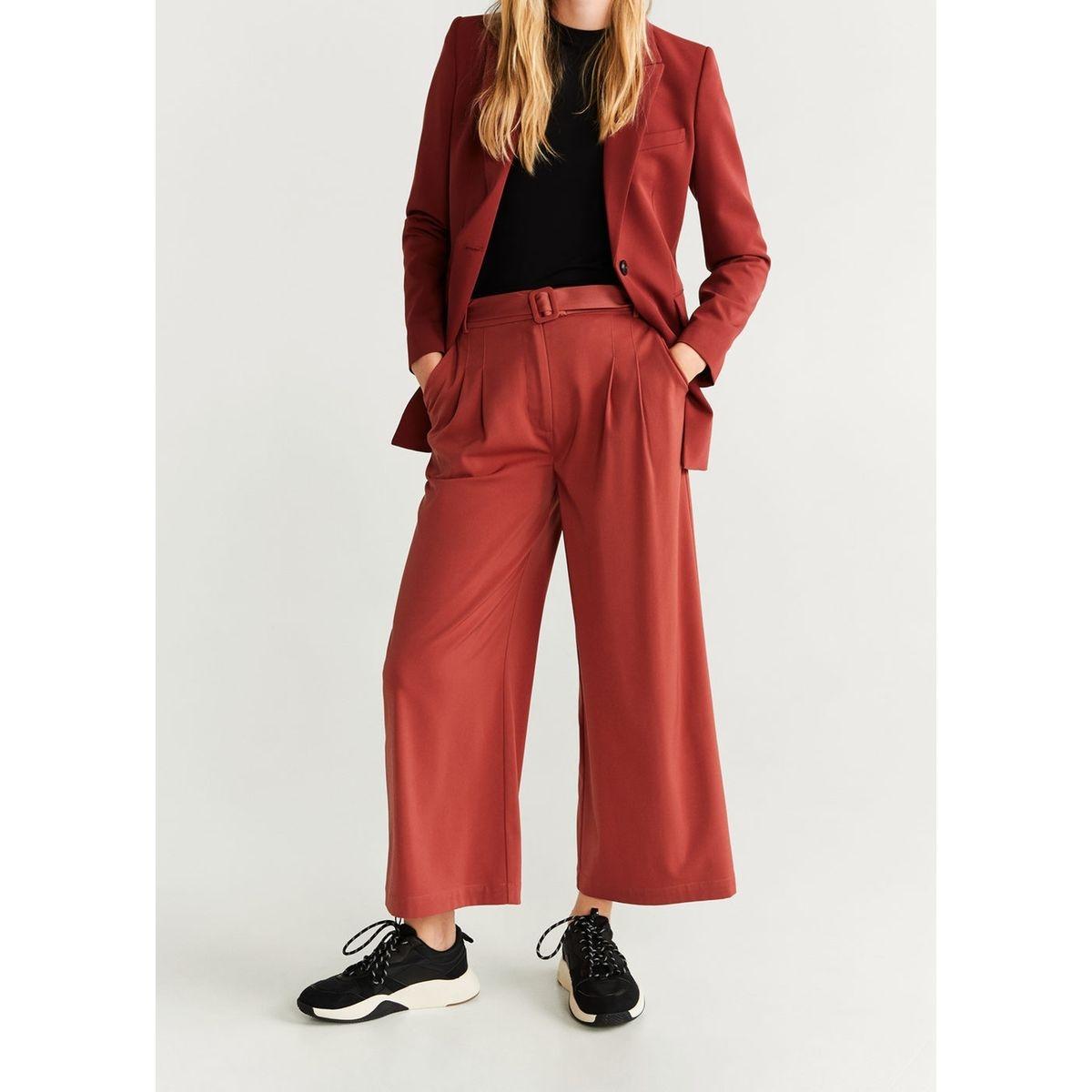 Jupe-culotte ceinture