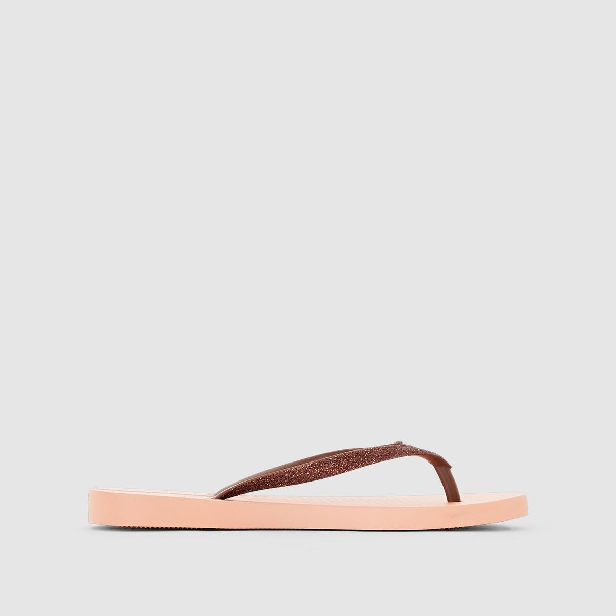 Вьетнамки Lolita III FemВерх/Голенище : каучук   Стелька : каучук   Подошва : каучук   Форма каблука : плоский каблук   Мысок : открытый мысок   Застежка : без застежки<br><br>Цвет: розовый/ каштановый<br>Размер: 38
