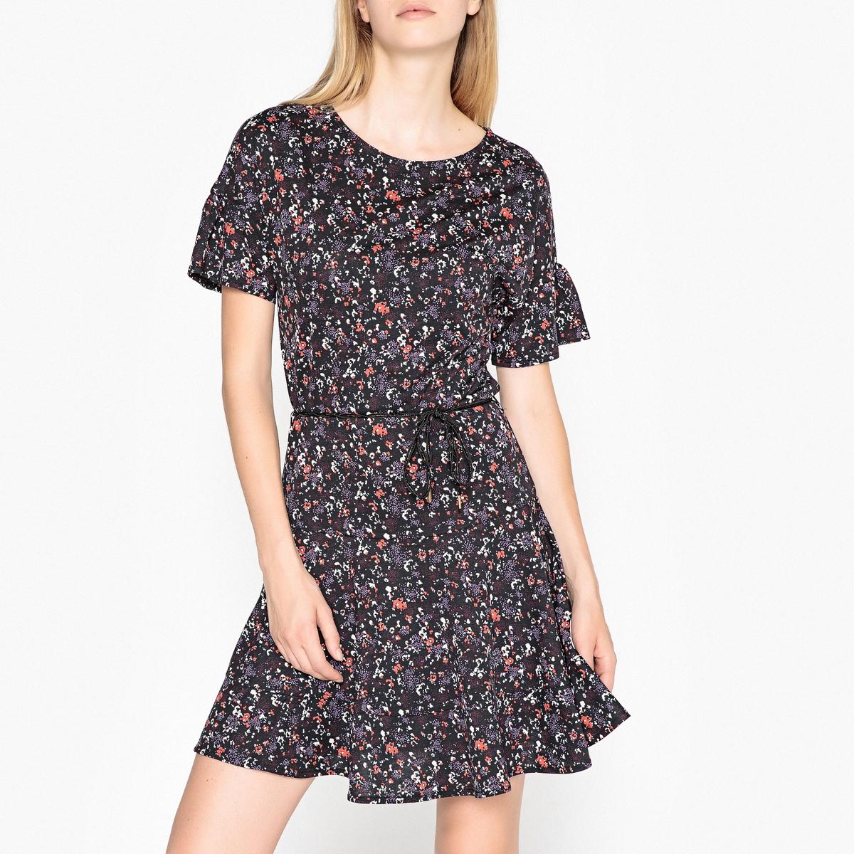 Платье с рисунком и рукавами 3/4 MARIE DOL
