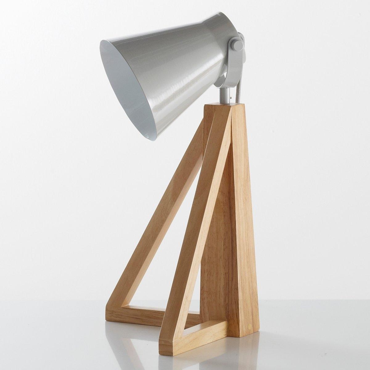 Лампа настольная, LidaЛампа настольная, Lida . Оригинальный и современный стиль, с использованием дерева и металла .Описание лампы, Lida :Патрон E14 для лампочки 11W (не входит в комплект)  Кабель из серого текстиля длина 1,95 м .Этот светильник совместим с лампочками    энергетического класса    : AХарактеристики лампы, Lida :Ножка из гельвеи.Абажур из металла с эпоксидным покрытием Всю коллекцию светильников вы можете найти на сайте laredoute..Размеры лампы, Lida :Диаметр : 27 смВысота : 43 см.<br><br>Цвет: серый,черный