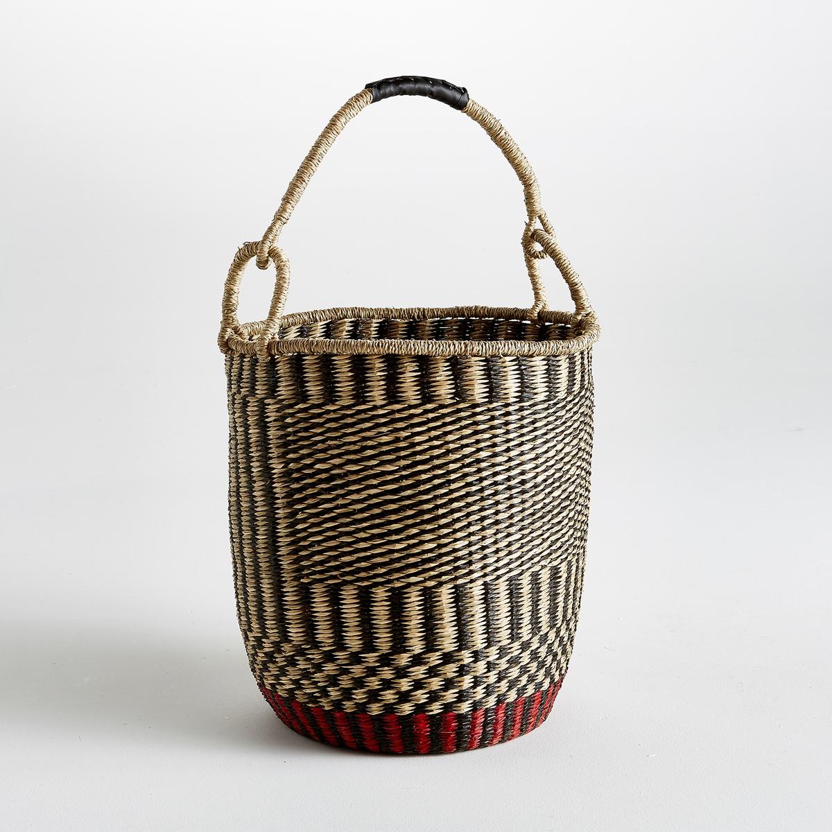 Корзина плетеная с ручкой, В.68 см, Dagyde