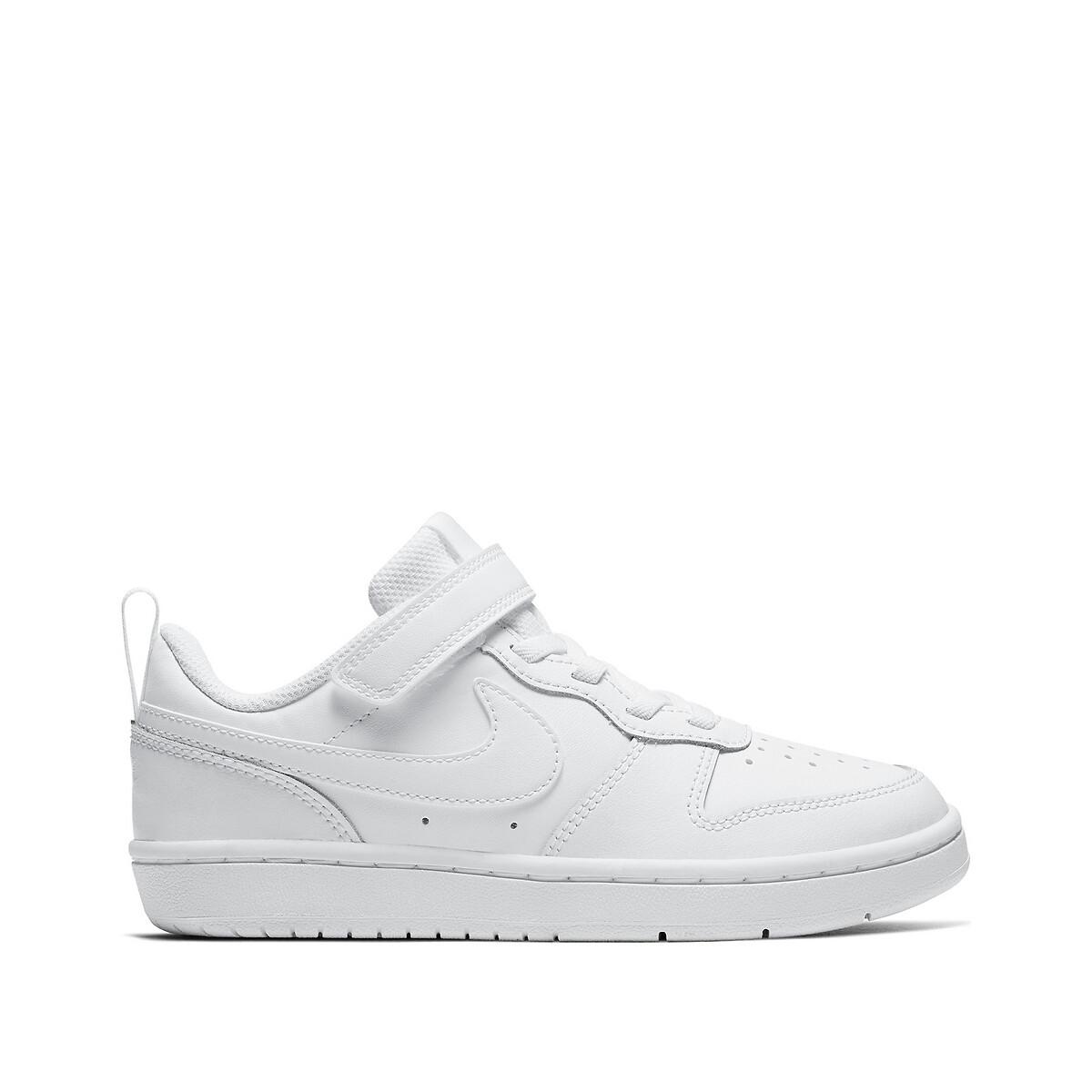 Nike Sneakers Court Borough Low 2 Zwart/Rood/Wit Kinderen online kopen